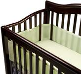 BreathableBaby Mesh Crib Liner - Sage Mist