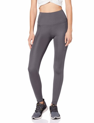 Aurique Amazon Brand Women's High Waisted Running Leggings With Side Pocket