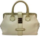 Louis Vuitton L'IngAnieux Beige Leather Handbags