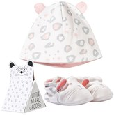 Little Marc Jacobs Two Piece Giftset of Mouse Hat and Shoes