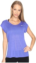 Nike Dri-FIT Cool Breeze Running Top Women's Short Sleeve Pullover