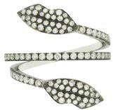 Delfina Delettrez Marry Me Diamond Double Lips Ring