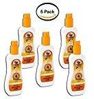 PACK OF 5 - Spray Gel Sunscreen SPF 4 Australian Gold Broad Spectrum Easy Tan, 4 fl oz