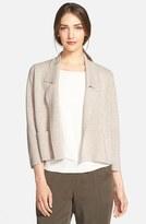 Eileen Fisher Petite Women's Wool Interlock Knit Jacket