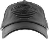 Giorgio Armani Jeans Logo Cap Black