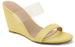 BCBGeneration Pina Vinyl Wedge Sandals Women's Shoes