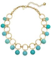 Kate Spade Gold-Tone Colored Bead Statement Necklace