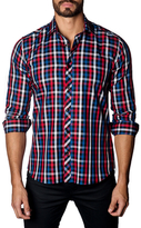 Jared Lang Woven Button-Down Sportshirt