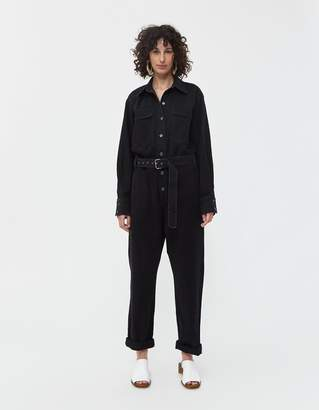 Rachel Comey Supply Jumpsuit in Washed Black