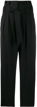 IRO High-Waist Bow-Detail Trousers