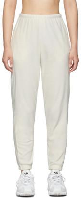 Off-White Gil Rodriguez SSENSE Exclusive Velour Beachwood Lounge Pants