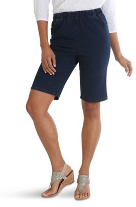 Chic Women's Stretch Pull On Bermuda Short