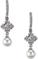 Nadri Joan Cubic Zirconia Pearl Drop Earrings