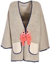 BEIGE The Extreme Collection Kimono Style Overcoat Clara