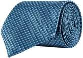 Corneliani Jacquard Silk Tie, Green, One Size