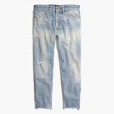 Madewell Chimala® Selvedge Used Ankle-Cut Jeans