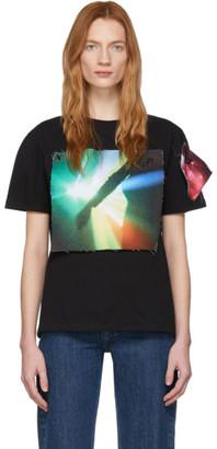Raf Simons Black The xx Edition Patch T-Shirt