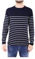 Daniele Fiesoli Men's Blue Cotton Sweatshirt.