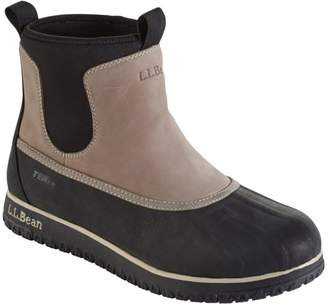L.L. Bean L.L.Bean Ultralight Waterproof Insulated Pac Boot, Mid Pull-On