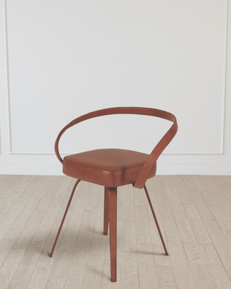 William D Scott All Leather Chair