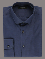 Autograph Pure Cotton Tailored Fit Oxford Shirt