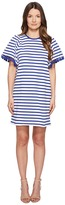 Kate Spade Broome Street Stripe Flutter Sleeve Dress Women's Dress
