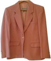 Burberry Pink Wool Jacket