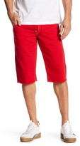 True Religion Flap Pocket Straight Cut Off Shorts