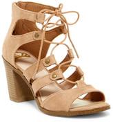 Fergalicious Mambo Block Heel Sandal