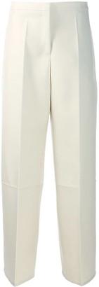 Jil Sander High-Waist Tailored Trousers