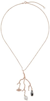 Wouters & Hendrix Reves de Reves tourmaline pearl necklace