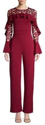 Quiz Frill Lace Jumpsuit