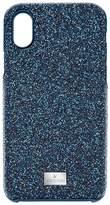 Swarovski High Smartphone Case with Bumper, iPhone® X, Blue