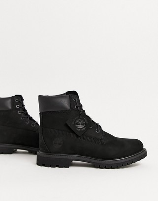 Timberland 6 Premium leather ankle boots in black