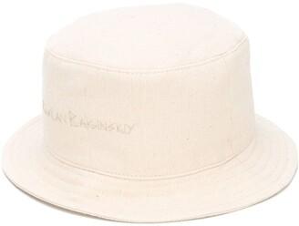 Ruslan Baginskiy Logo Embroidered Bucket Hat