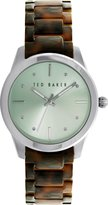 Ted Baker Women's 10025278 Classic Analog Display Japanese Quartz Brown Watch