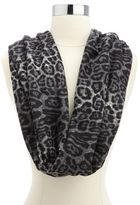 Charlotte Russe Thick Leopard Infinity Scarf