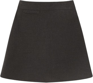 John Lewis & Partners Girls' Adjustable Waist Stain Resistant A-Line School Skirt