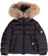 Moncler Byron Parka with Fur Hood