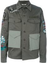 Valentino patch pocket jacket - men - Cotton/Polyester/Viscose - 46