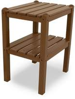 Polywood Outdoor Two-Shelf Side Table