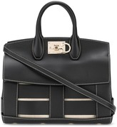 Salvatore Ferragamo Studio woven-leather bag