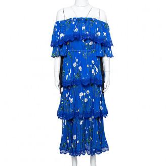 Self-Portrait Blue Cotton Dresses
