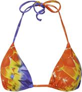 Onia Megan Feather Print Bikini Top