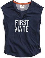 Sperry First Mate Split Neck T-Shirt