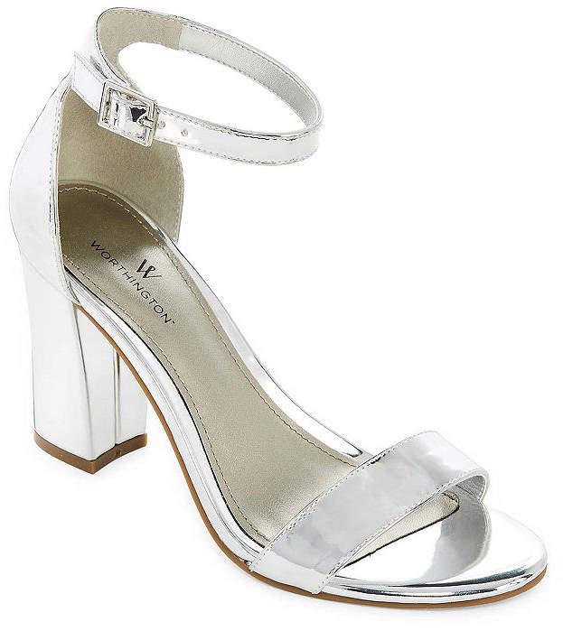 db1c1a7ed4560 6 Inch Silver Heels - ShopStyle