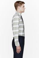 Thom Browne Green oxford plaid classic shirt