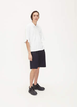 Thom Browne Oversized Pique Pocket Polo