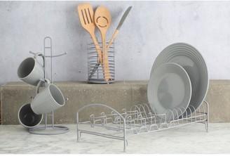 Typhoon Living Grey Wire Dish Rack