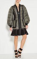 Herve Leger Rys Multi-Texture Jacket